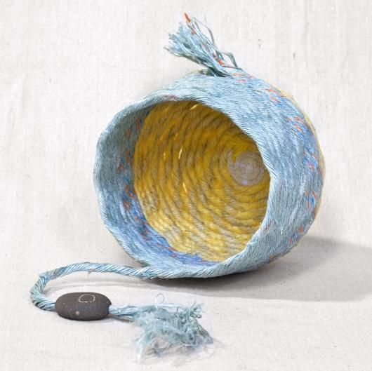 Sunbreak - Oregon Baskets, Ghost Net Baskets -  artwork by Emily Miller