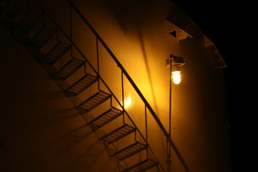 Spiral Stairs,  -  artwork by Emily Miller
