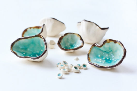 Sea Seeds, Ceramics -  artwork by Emily Miller