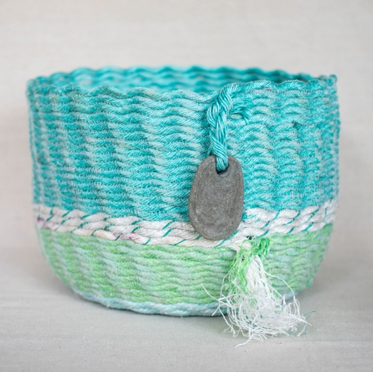 Oceana ghost net baskets, Ghost Net Baskets -  artwork by Emily Miller