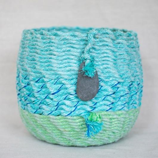 Oceana ghost net baskets, Ghost Net Baskets -  artwork by Emily Miller