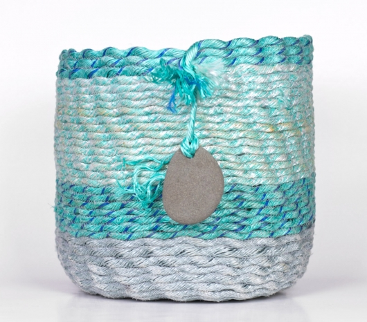 Sea Shimmer Basket, 2020 •
