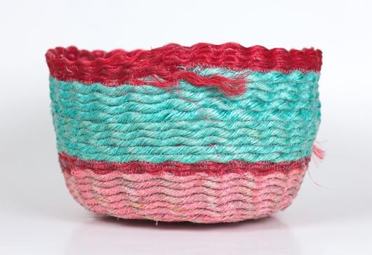 Red Lip Poolside Basket, 2020