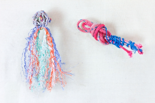 Example fish Ghost Net Fish Kits, Ghost Net -  artwork by Emily Miller