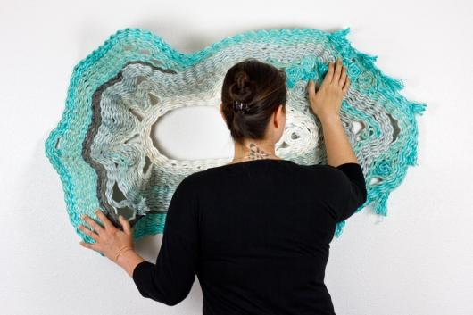 Oyster   Cuttlefish   Gyre, Gyre -  artwork by Emily Miller