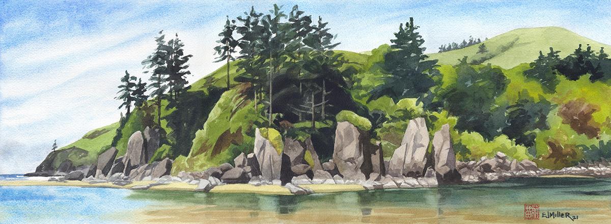 River Sentinels at Cascade Head, 2021 •