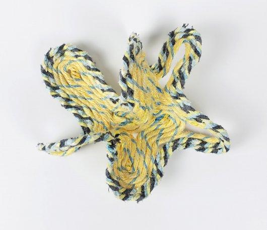 Amoeba, Ghost Net Baskets -  artwork by Emily Miller